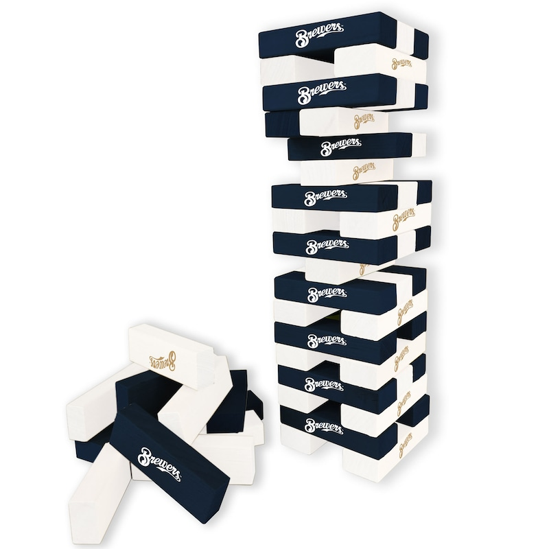 Milwaukee Brewers Wooden Table Top Stackers