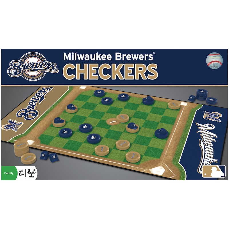 Milwaukee Brewers Checkers Game