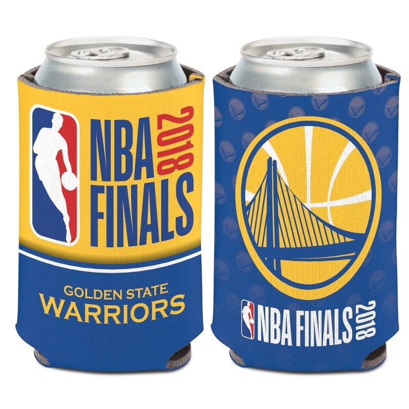 Golden State Warriors WinCraft 2018 NBA Finals Bound 12oz. Can Cooler