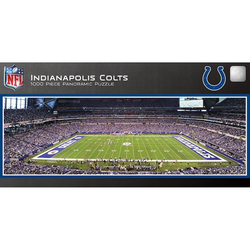 Indianapolis Colts 1000-Piece NFL Stadium Panoramic Puzzle