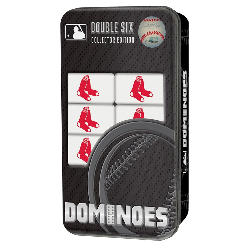 Boston Red Sox 28-Piece Dominoes Game
