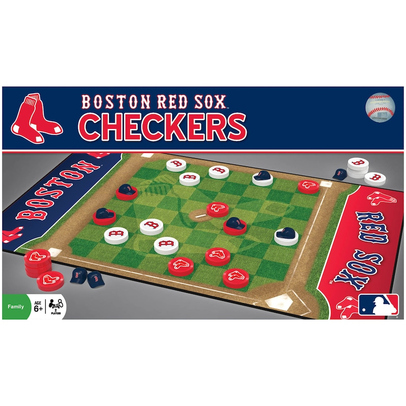 Boston Red Sox Checkers Game