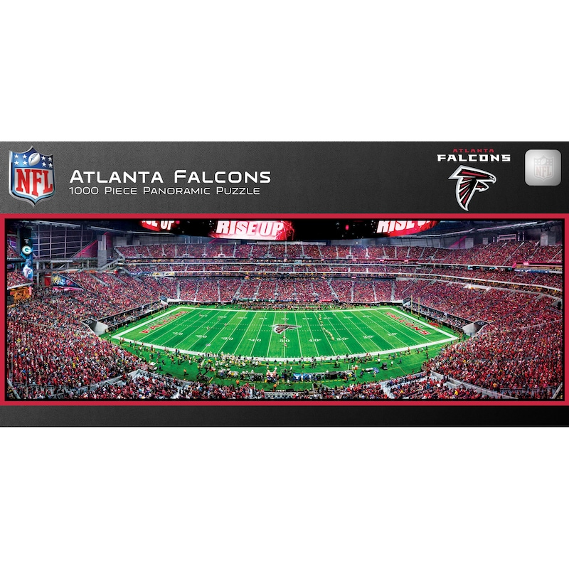 Atlanta Falcons 1000-Piece NFL Stadium Panoramic Puzzle