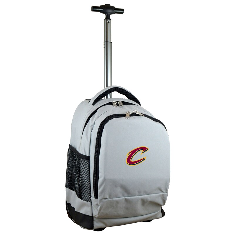 Cleveland Cavaliers 19'' Premium Wheeled Backpack - Gray