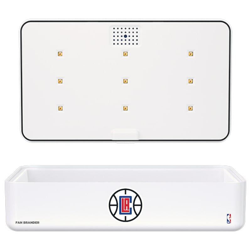LA Clippers Portable UV Phone Sterilizer & Wireless Charger - White
