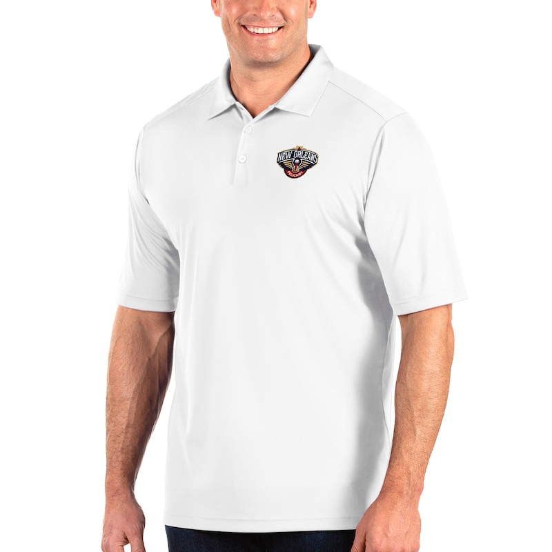 New Orleans Pelicans Antigua Big & Tall Tribute Polo - White