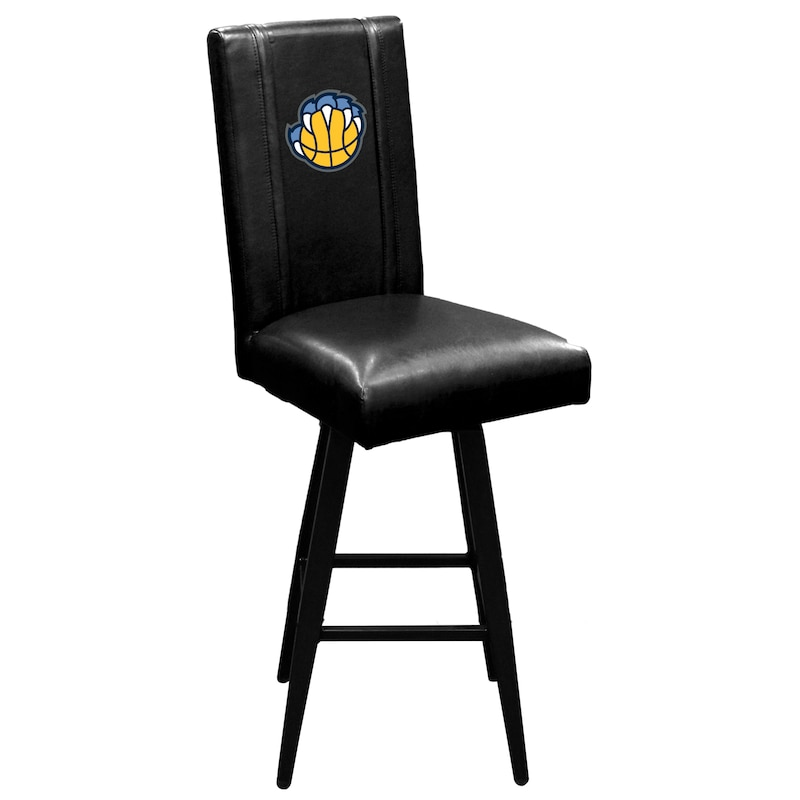 Memphis Grizzlies DreamSeat Logo Team Swivel Bar Stool 2000