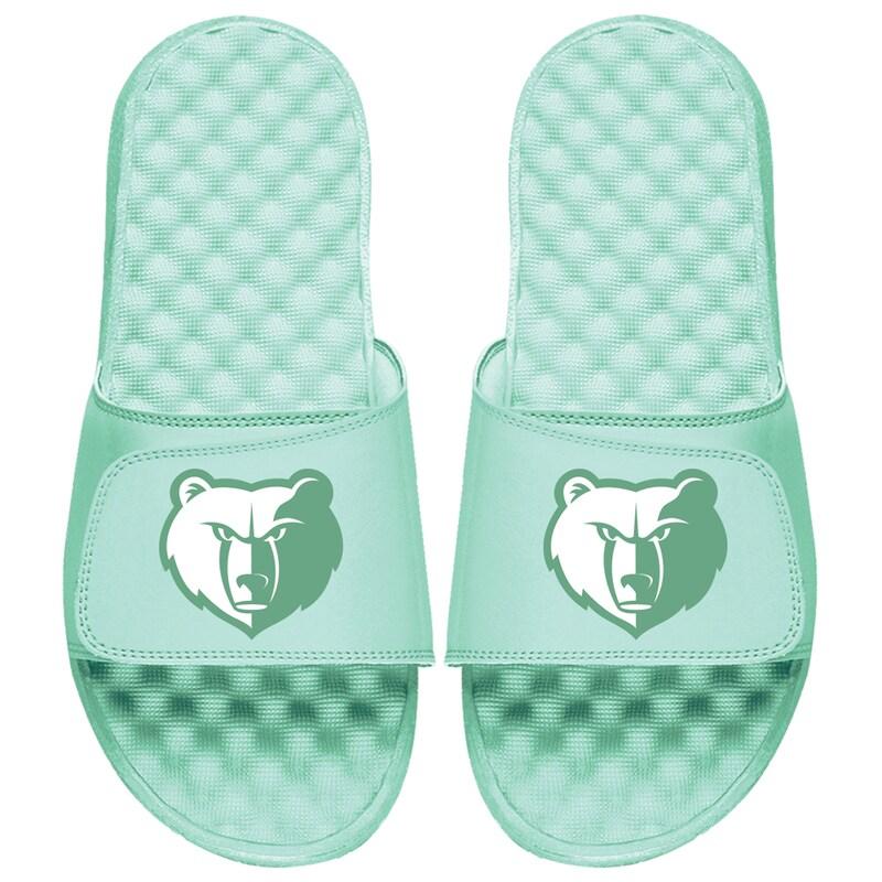 Memphis Grizzlies ISlide Seafoam Collection Slide Sandals - Mint Green