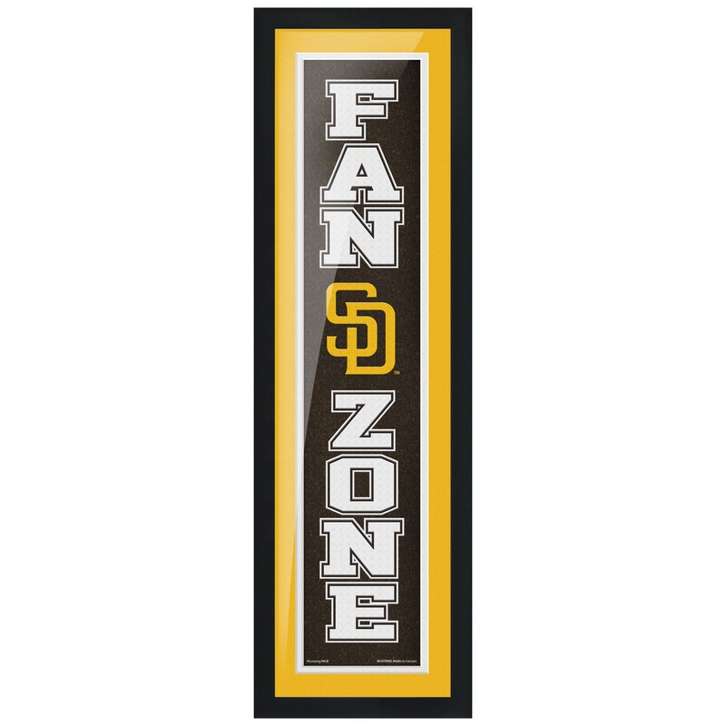 San Diego Padres 6'' x 22'' Fan Zone Framed Artwork