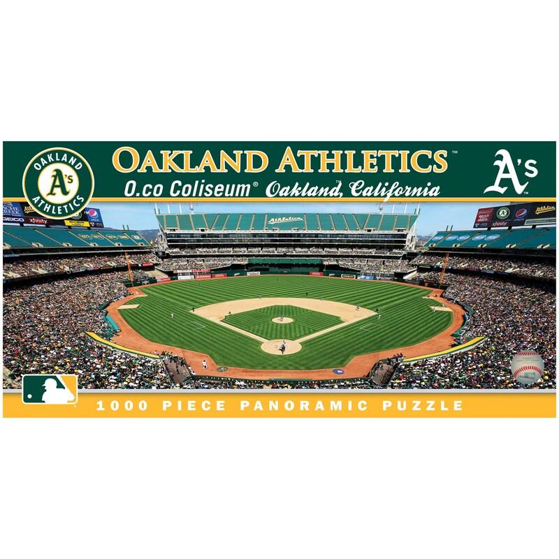Oakland Athletics 1000-Piece Panoramic Puzzle