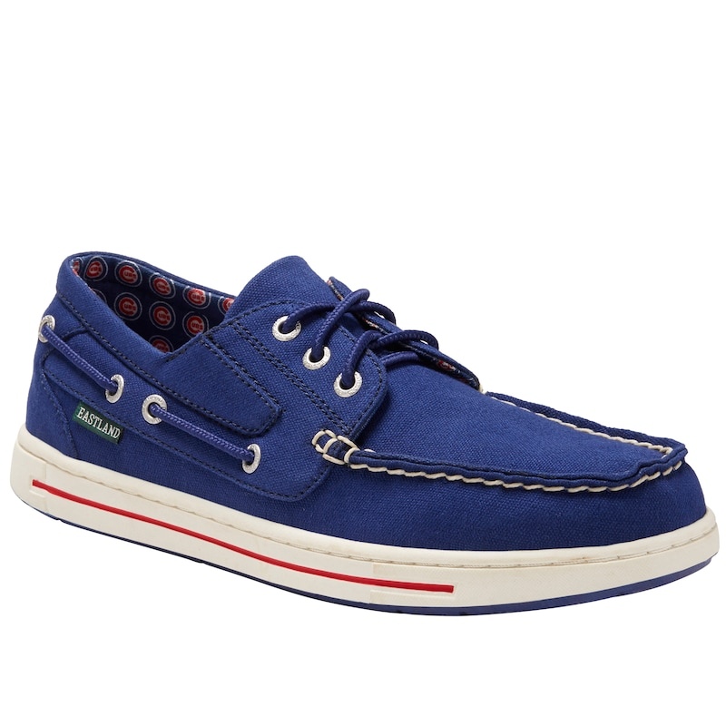 Chicago Cubs Eastland Adventure Boat Shoes - Royal