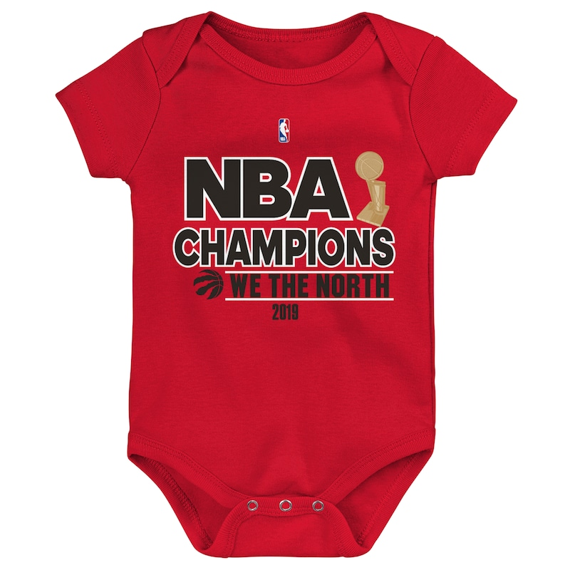 Toronto Raptors Newborn & Infant 2019 NBA Finals Champions Mantra Bodysuit - Red