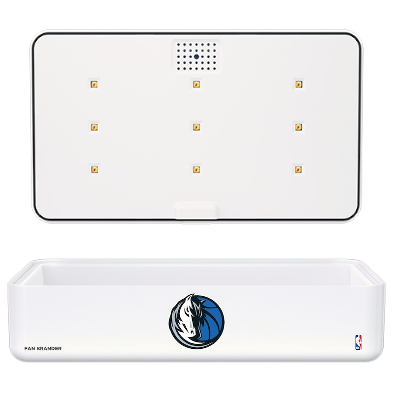 Dallas Mavericks Portable UV Phone Sterilizer & Wireless Charger - White