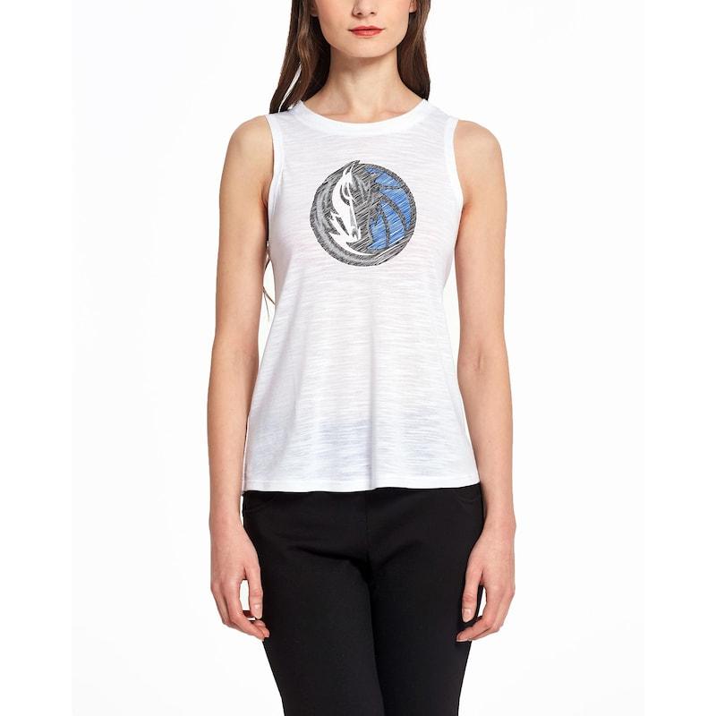 Dallas Mavericks Concepts Sport Women's Infuse Knit Tank Top - White