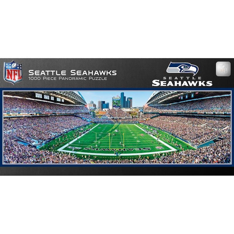 Seattle Seahawks 1000-Piece NFL Stadium Panoramic Puzzle