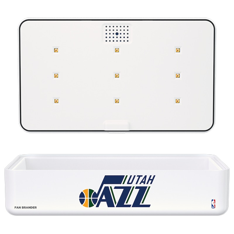 Utah Jazz Portable UV Phone Sterilizer & Wireless Charger - White