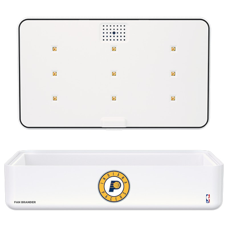 Indiana Pacers Portable UV Phone Sterilizer & Wireless Charger - White
