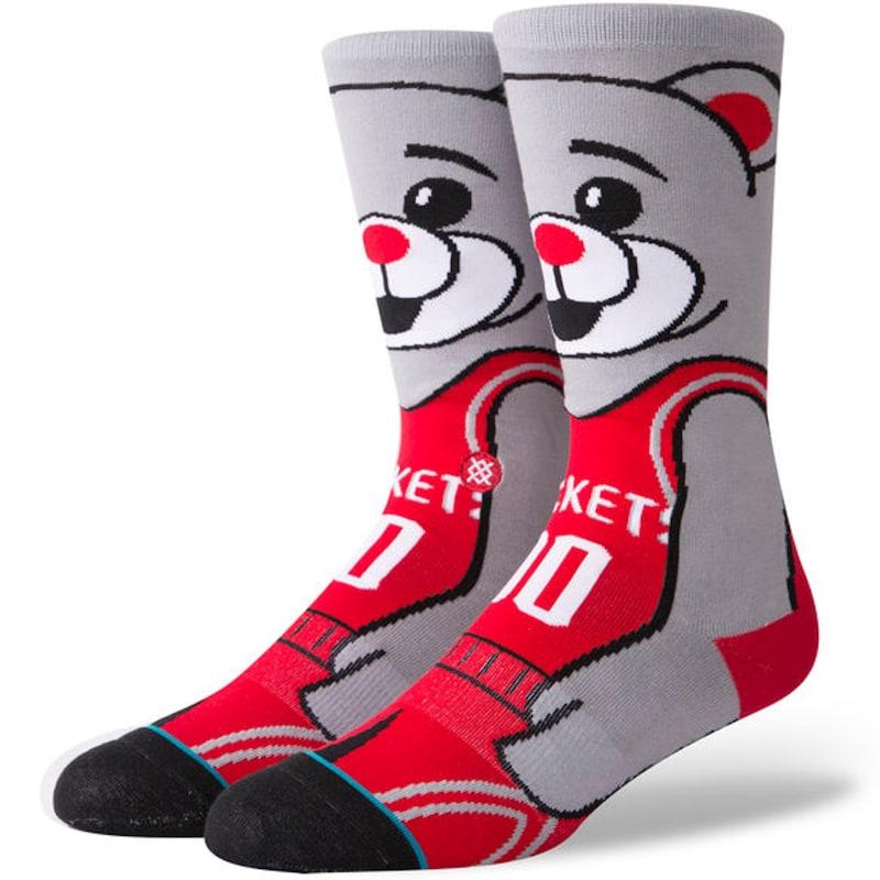 Houston Rockets Stance NBA Mascot Character Crew Socks
