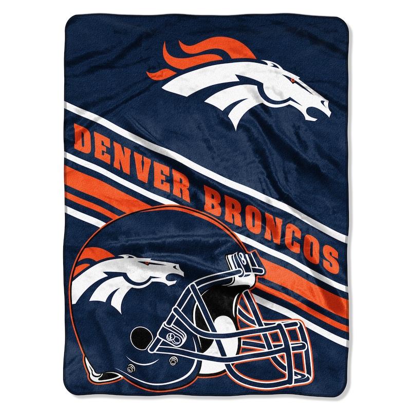 Denver Broncos The Northwest Company 60'' x 80'' Slant Rashcel Throw