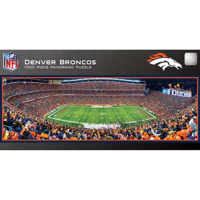Denver Broncos 1000-Piece NFL Stadium Panoramic Puzzle