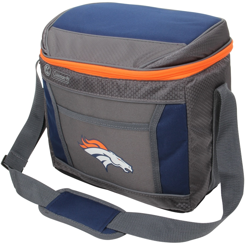Denver Broncos Coleman 16-Can 24-Hour Soft-Sided Cooler