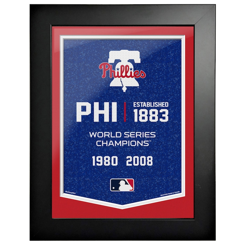 Philadelphia Phillies 12'' x 16'' Empire Framed Artwork
