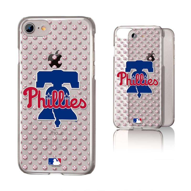 Philadelphia Phillies iPhone 6/6s/7/8 Baseball Logo Clear Case