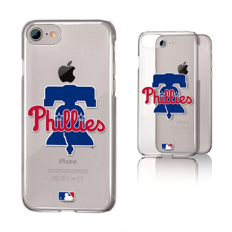 Philadelphia Phillies iPhone 6/6s/7/8 Team Logo Clear Case