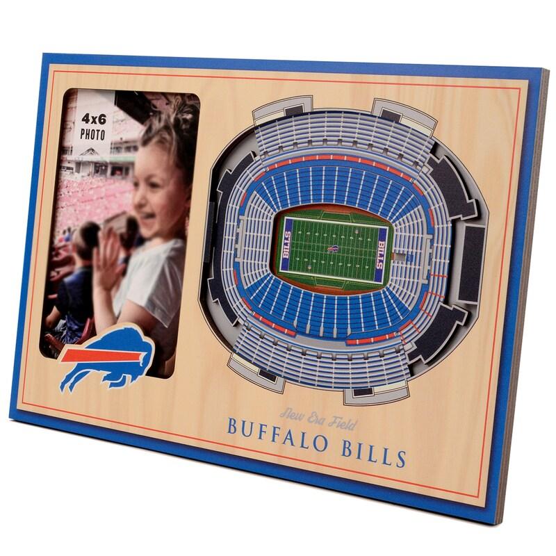 Buffalo Bills 3D StadiumViews Picture Frame - Brown
