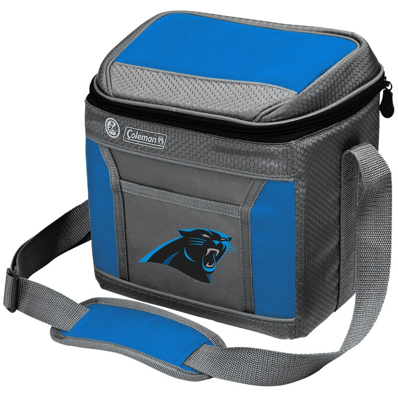 Carolina Panthers Coleman 9-Can 24-Hour Soft-Sided Cooler