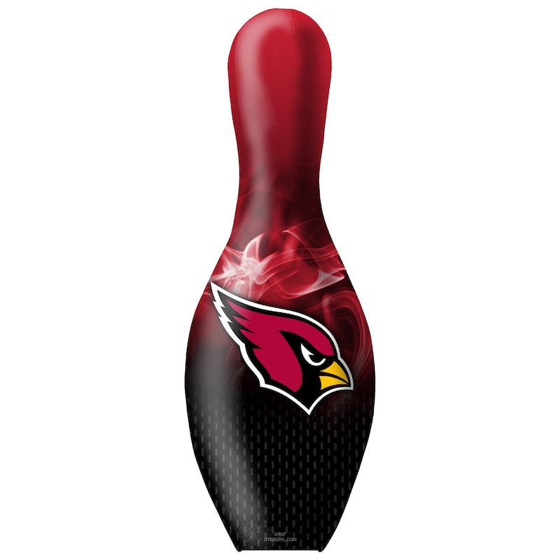 Arizona Cardinals NFL On Fire Bowling Pin