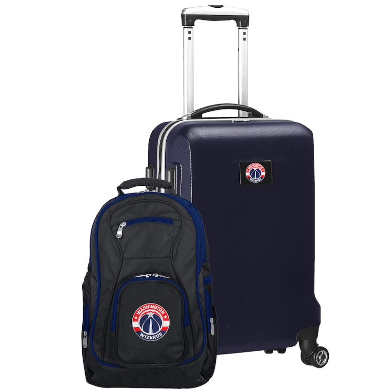 Washington Wizards Deluxe 2-Piece Backpack and Carry-On Set - Navy