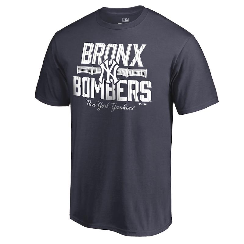 New York Yankees Bombers Hometown T-Shirt - Navy