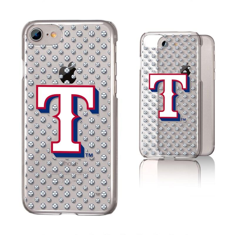Texas Rangers iPhone 6/6s/7/8 Baseball Logo Clear Case