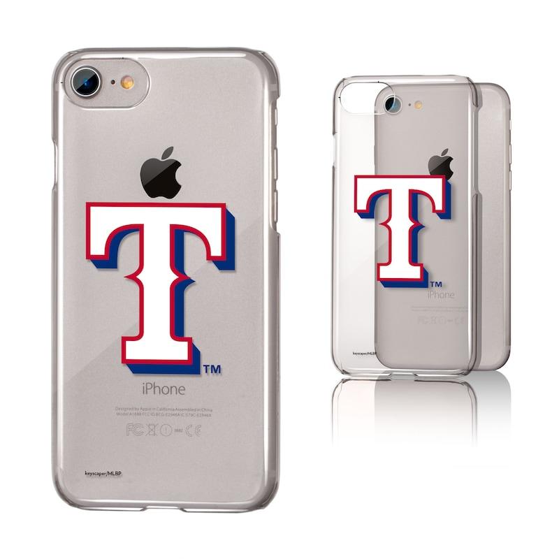 Texas Rangers iPhone 6/6s/7/8 Team Logo Clear Case