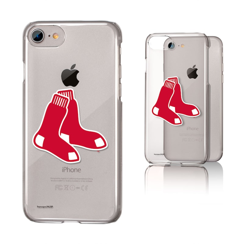 Boston Red Sox iPhone 6/6s/7/8 Team Logo Clear Case