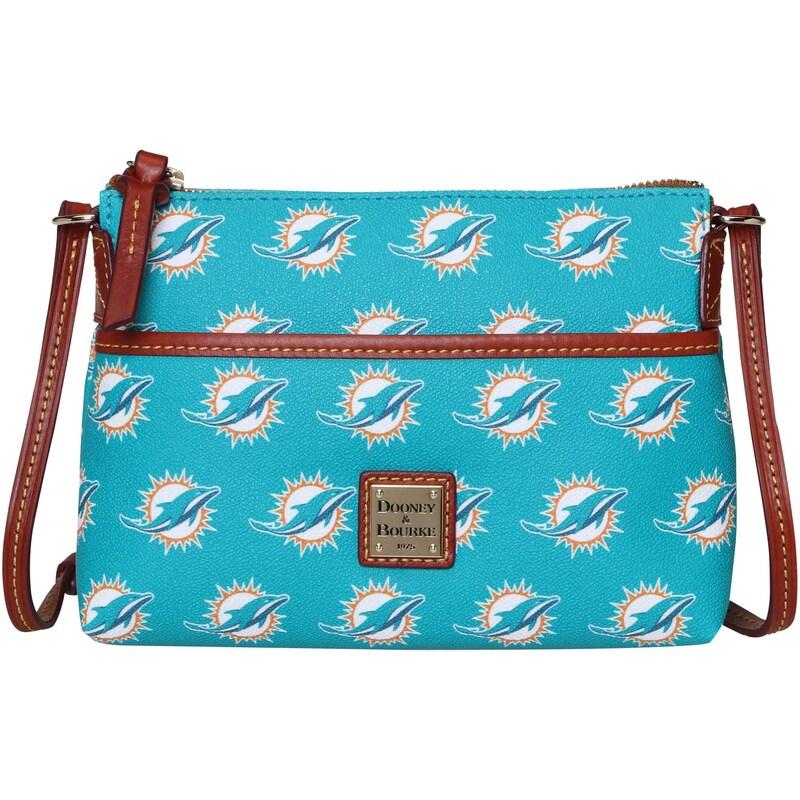 Miami Dolphins Dooney & Bourke Women's Team Color Ginger Crossbody