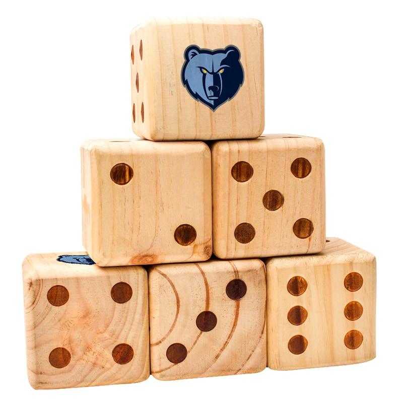 Memphis Grizzlies Yard Dice Game