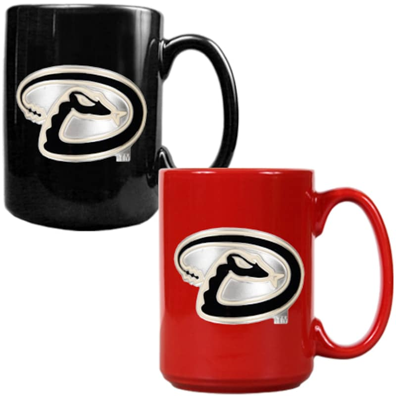 Arizona Diamondbacks 15oz. Coffee Mug Set