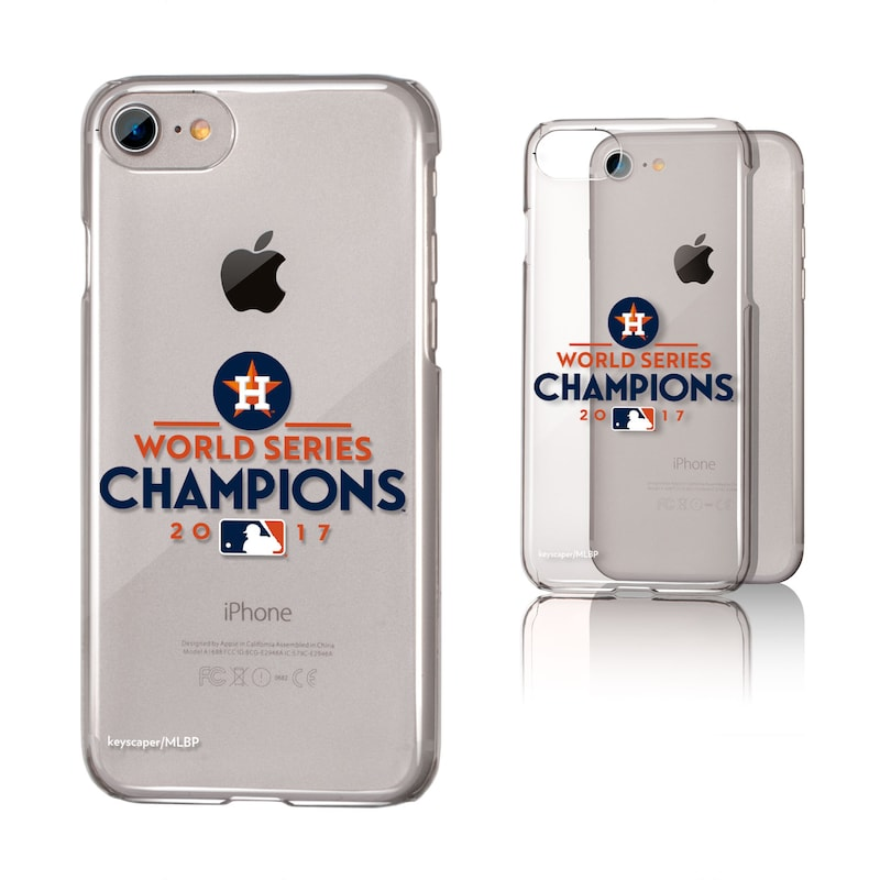 Houston Astros 2017 World Series Champions iPhone 6/6s/7/8 Clear Case