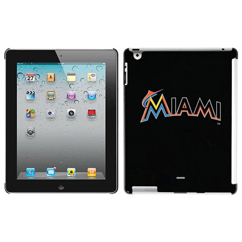 Miami Marlins iPad Case - Black