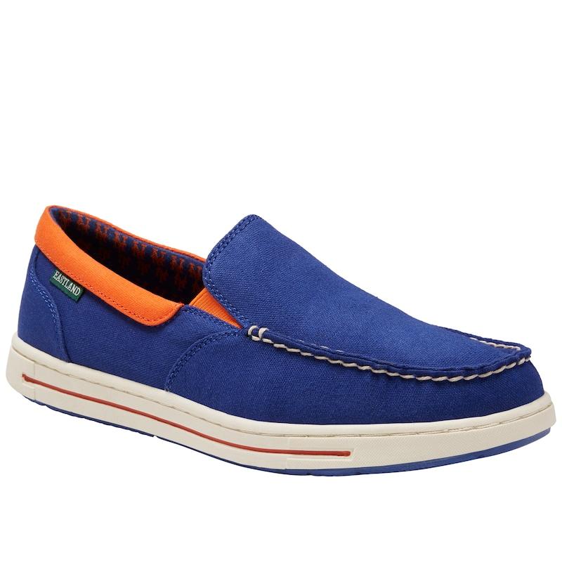 New York Mets Eastland Slip-On Surf Shoes - Royal