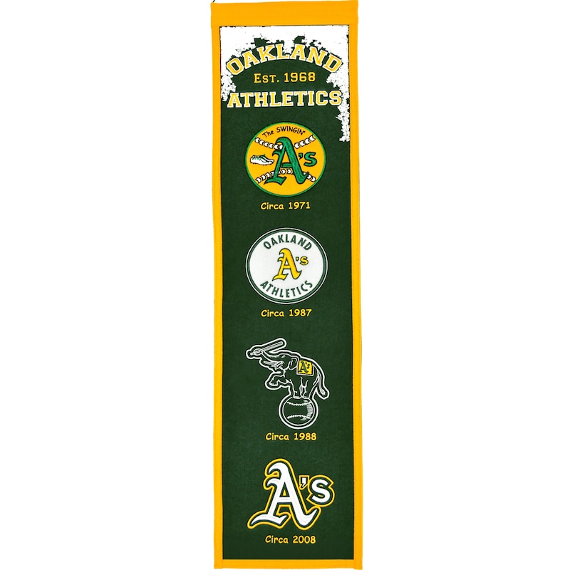 "Oakland Athletics 8"" x 32"" Heritage Banner"