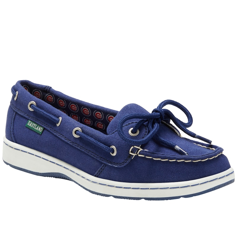 Chicago Cubs Eastland Women's Sunset Boat Shoes - Royal