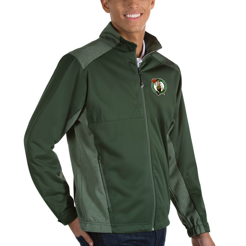 Boston Celtics Antigua Revolve Full-Zip Jacket - Green