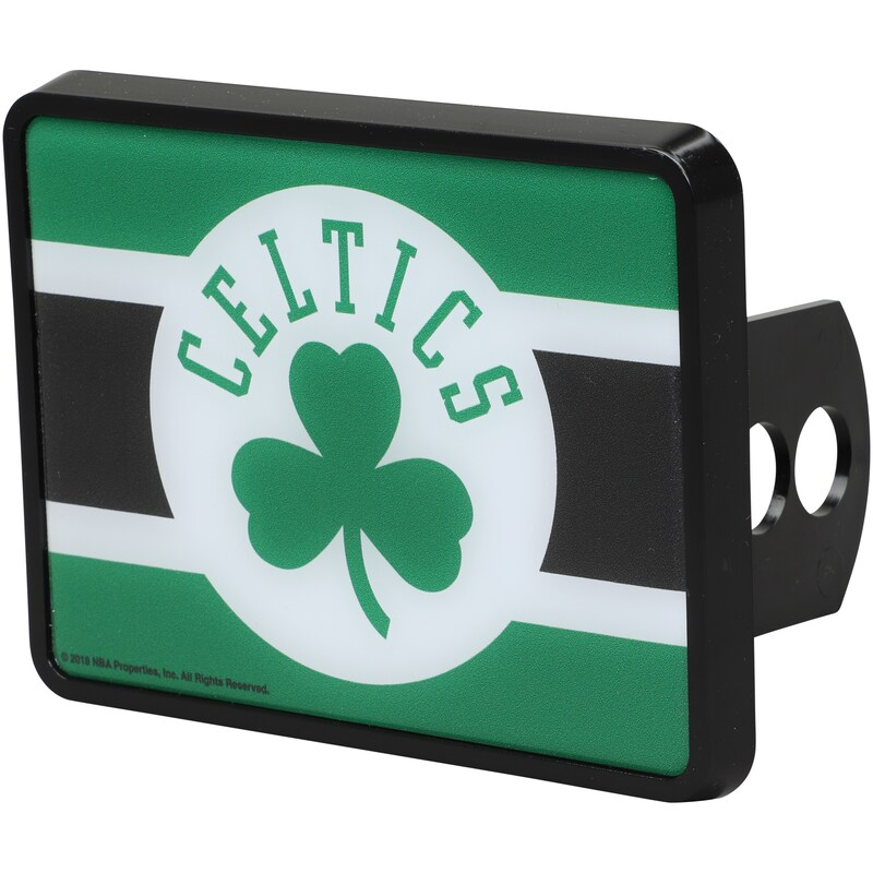 Boston Celtics Universal Rectangle Hitch Cover