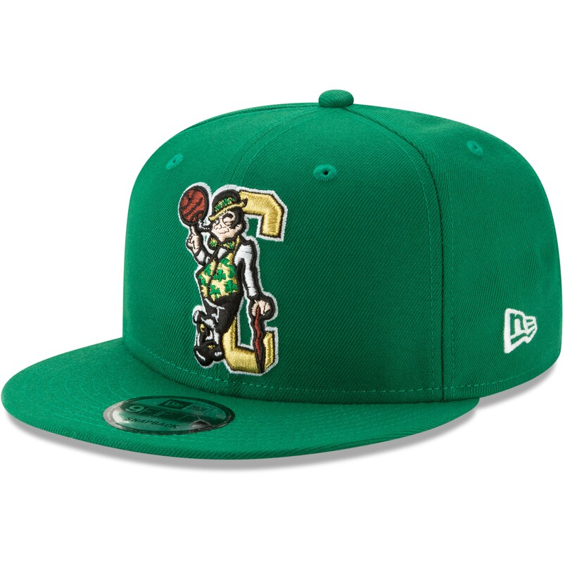 Boston Celtics New Era Back Half 9FIFTY Adjustable Hat - Green