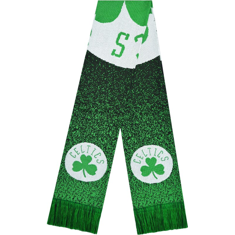 Boston Celtics Big Logo Knit Scarf