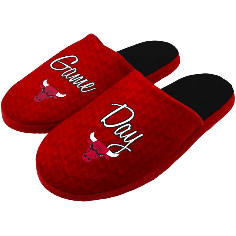 Chicago Bulls Women's Slogan Slippers