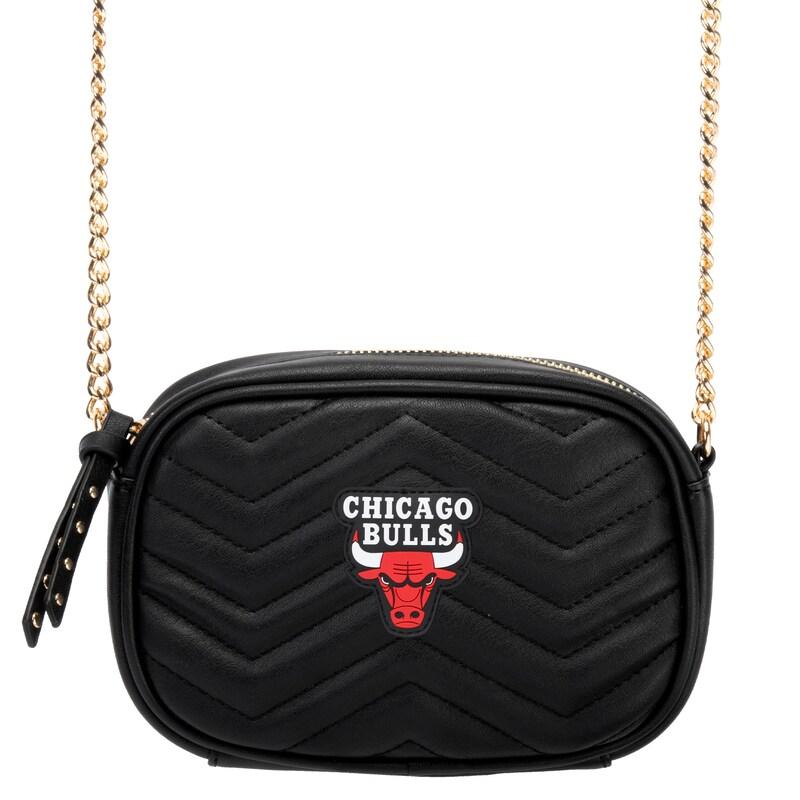 Chicago Bulls Women's Crossbody Bag - Black